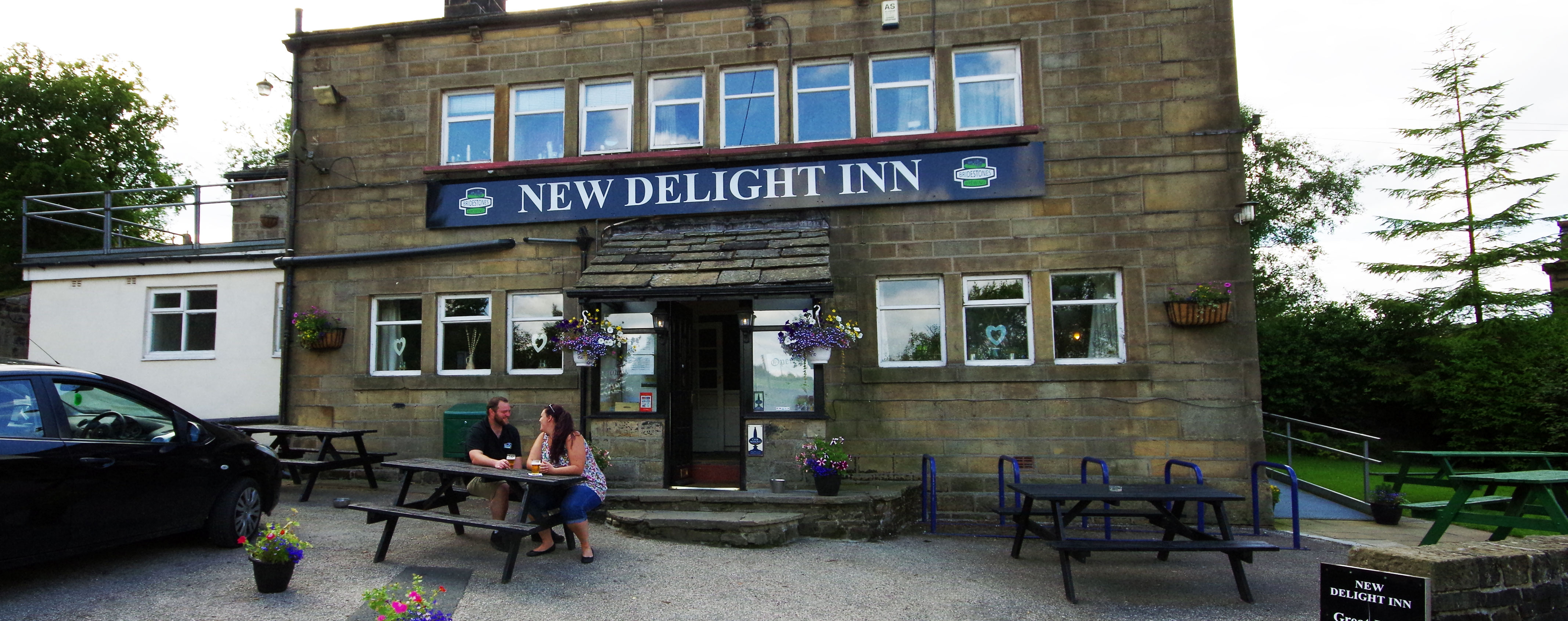 Hebden Bridge Camping, The New Delight Inn